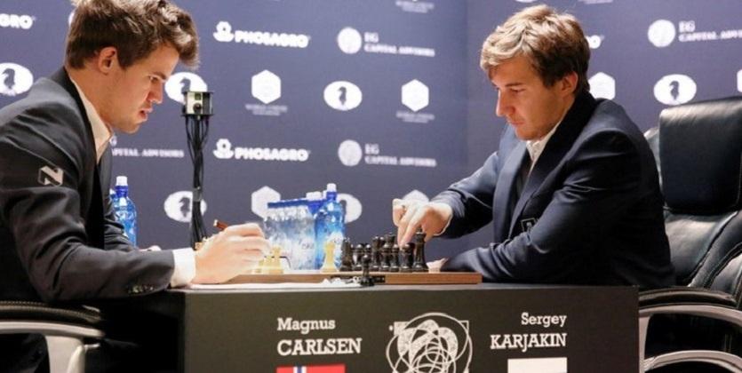 Карлсен - чемпион мира по шахматам!