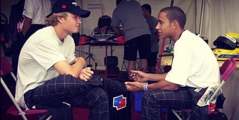 Формула-1. Хэмилтон поздравил Росберга с чемпионством