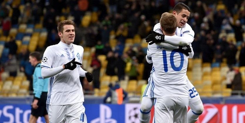 Динамо заработало вЛЧ 15,2 млн евро