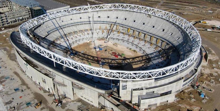 Wanda Metropolitano— название нового стадиона «Атлетико»