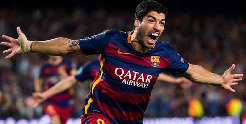 Луис Суарес договорился опродлении договора с«Барселоной» до 2021-ого