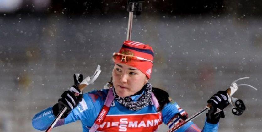 Россиянка Акимова выиграла бронзу вгонке преследования наэтапеКМ побиатлону