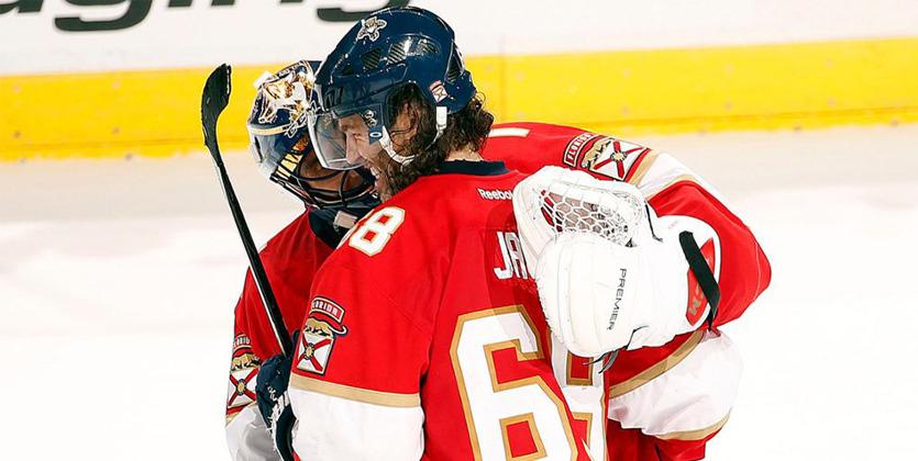 Первой звездой дня НХЛ признан игрок «Флориды» Яромир Ягр