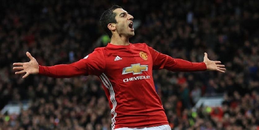 Шикарный гол пяткой полузащитника «Манчестер Юнайтед» Генриха Мхитаряна попал навидео
