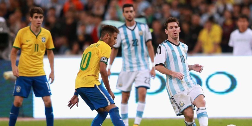 ФФУ предложила сборным Бразилии иАргентины готовиться вУкраине кЧМ