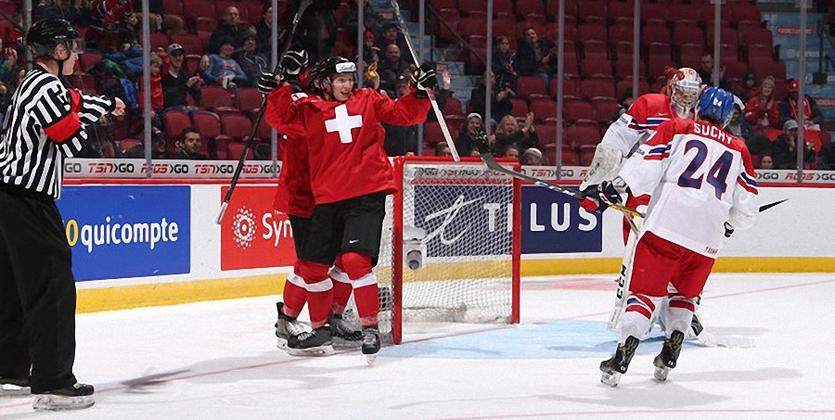 МЧМ-2017. Швейцария в овертайме обыграла Чехию