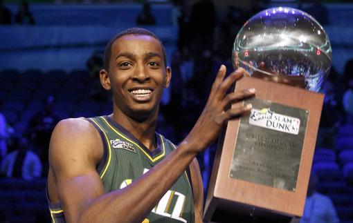 Победитель данк-контеста НБА в Топ-10 данков сезона в Еврокубке