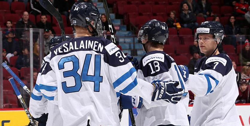 МЧМ-2017. Финляндия минимально обыграла Латвию