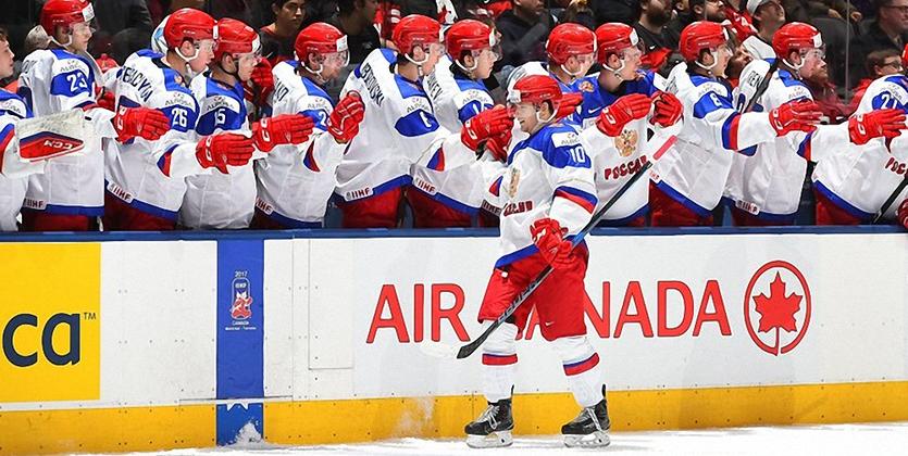 Молодежная сборная Канады похоккею разгромила шведов
