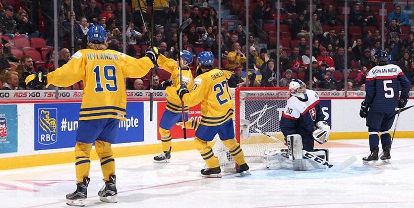 МЧМ-2017. Швеция уверенно выходит в полуфинал