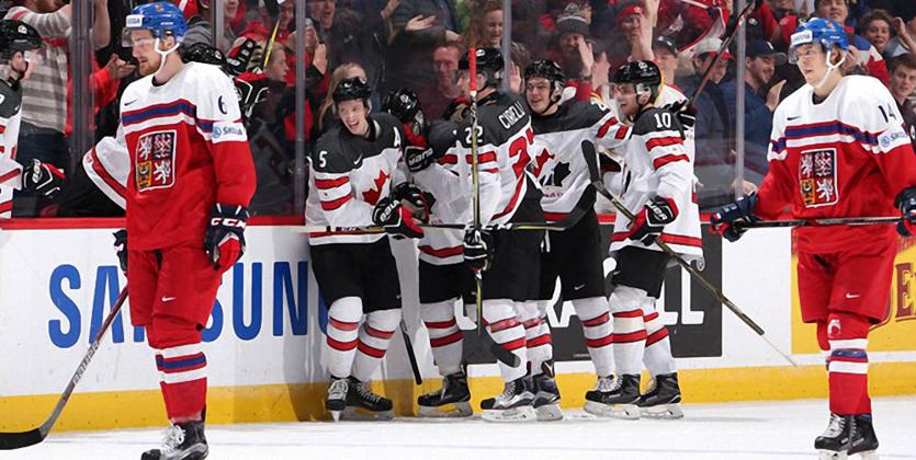 МЧМ-2017. США и Канада прошли в полуфинал