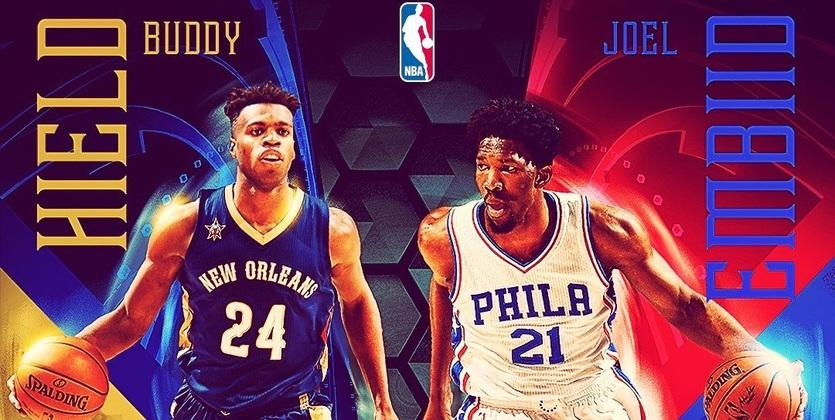 НБА. Эмбиид и Хилд - новички месяца