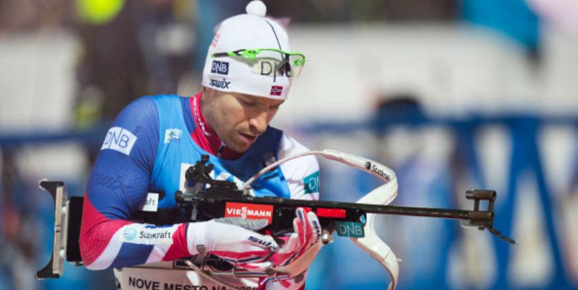 Биатлон. Свендсен выгрыз победу для Норвегии, Украина - 4-я