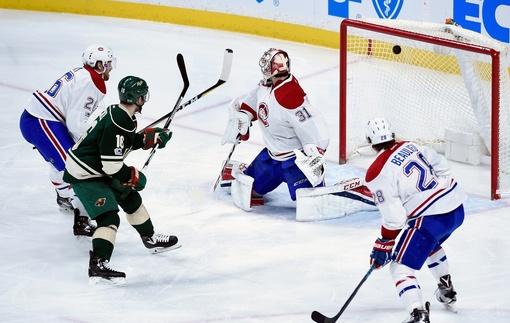НХЛ. Миннесота уничтожила Монреаль, поражения Питтсбурга и Детройта
