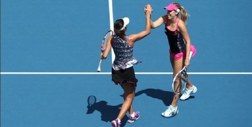 Теннис. Украинско-румынский дуэт сыграет вфинале турнира вХобарте