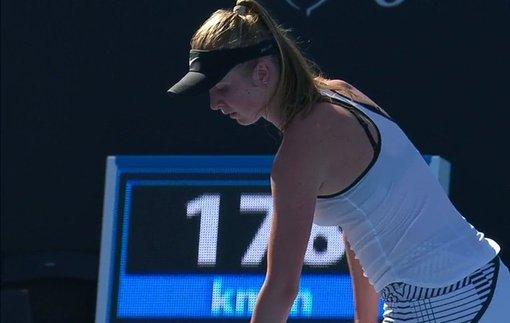 Свитолина проиграла 2 гейма в стартовом матче Australian Open