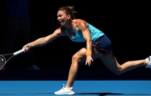 Australian Open. Вылет Халеп и Касаткиной, победы Бушар, Пуиг и Мугурусы