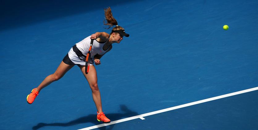 Одесситка без сложностей выходит втретий раунд Australian Open