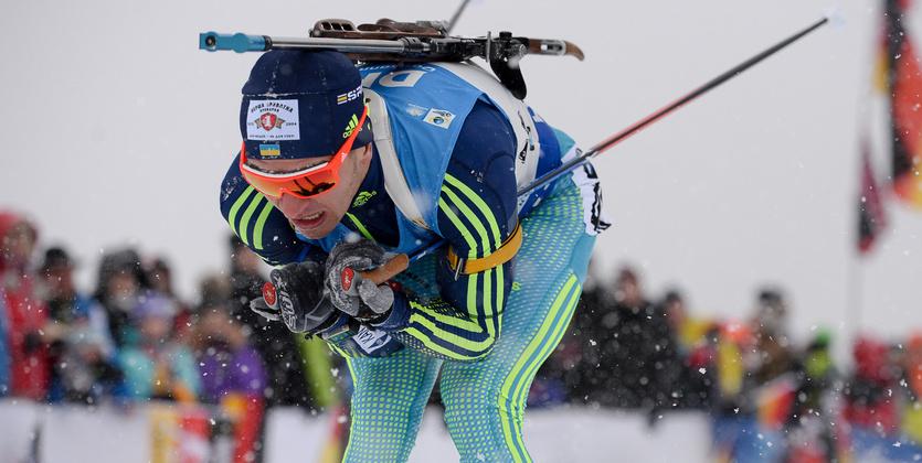 Антон Шипулин одержал победу персональную гонку наэтапе Кубка мира