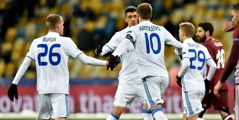 Динамо на21-м месте завсю истории Лиги чемпионов