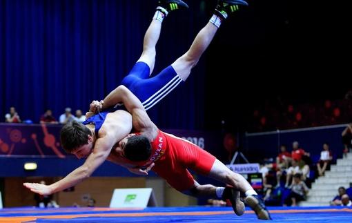 В Харькове прошел чемпионат Украины по греко-римской борьбе