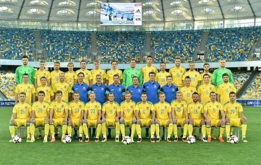 Сборная Украины сыграет матч с Хорватией в новой форме