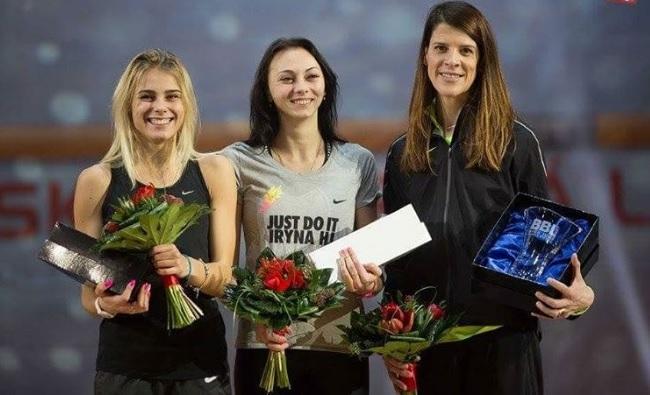 Украинки заняли два первых места намеждународном турнире попрыжкам ввысоту