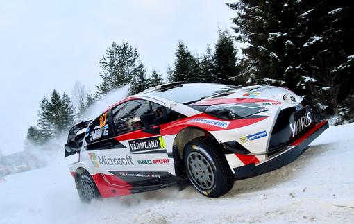 Латвала вышел в лидеры после первого этапа Ралли Швеция