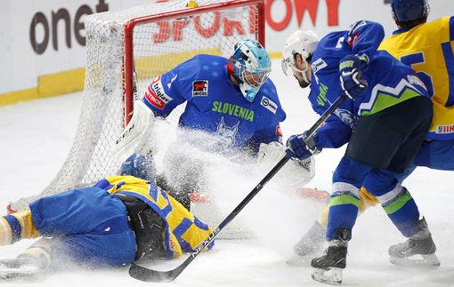 Сборная Украины по хоккею потерпела поражение от Словении