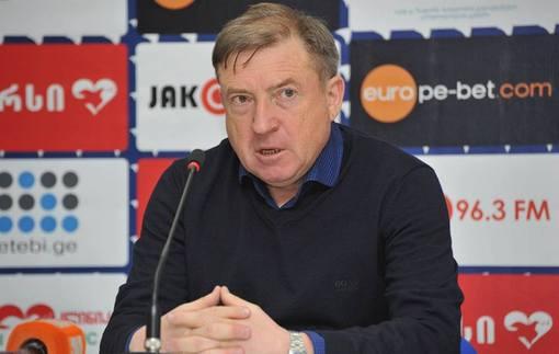 Грозный покинул пост наставника Динамо Тбилиси