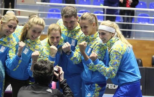 Украина узнала соперника в плей-офф Мировой группы Кубка Федерации
