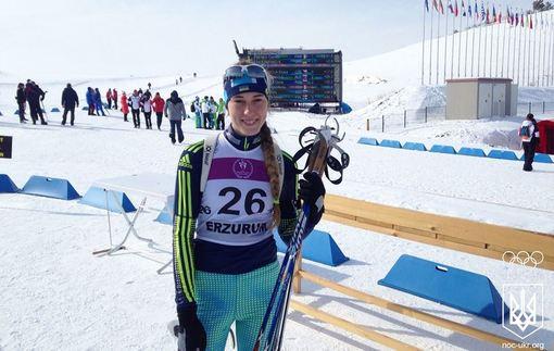 Украинка Дмитренко завоевала серебро на олимпийском фестивале