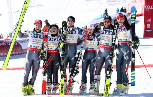 Горные лыжи: Франция стала чемпионом мира в параллельном слаломе