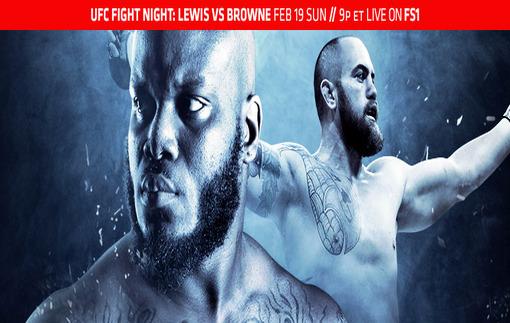 Браун – Льюис: Промо видео UFC Fight Night 105