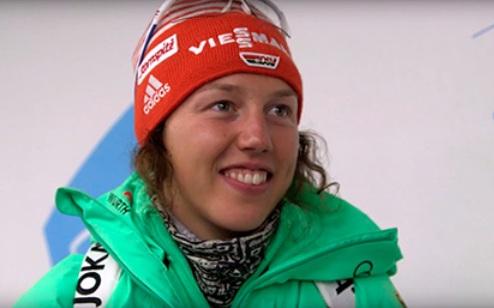 Далмайер побила рекорд, завоевав медаль ЧМ в 10-ой гонке подряд