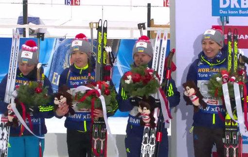 Серебряная гонка: Как Украина медаль в эстафете на чемпионате мира по биатлону выиграла