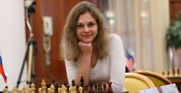 Музычук пробилась вчетвертьфинал чемпионата мира— Шахматы