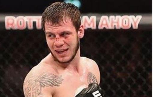 Украинец Крылов уволен из UFC