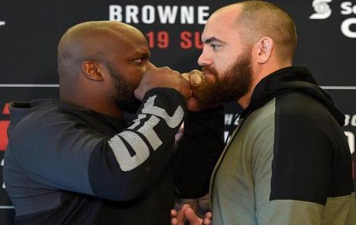 UFC Fight Night 105: Видео битвы взглядов