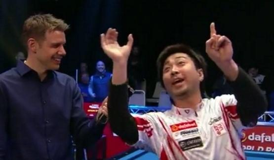 Японский бильярдист дал неадекватное интервью после проигрыша