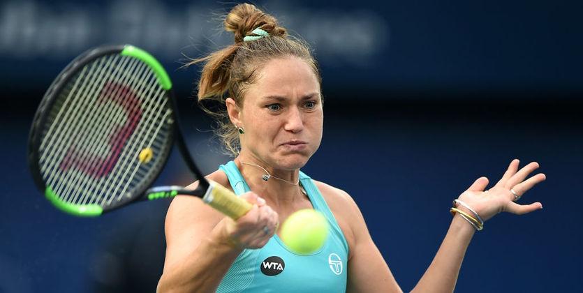 Свитолина обыграла Кербер ивышла вфинал турнира вДубае