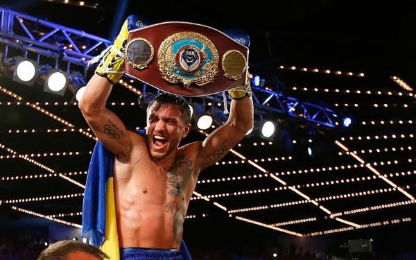 Ломаченко признан боксером года поверсии «World Boxing News»