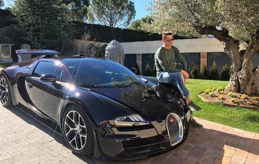 Криштиану Роналду показал свой суперкар