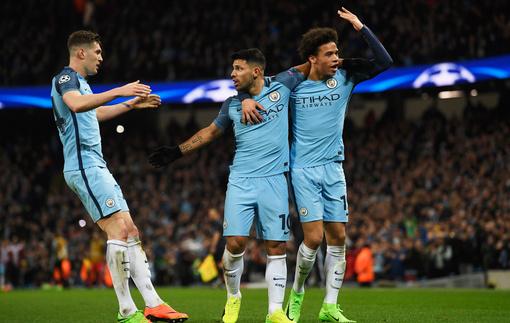 Манчестер Сити и Монако выдали результативный матч в Лиге чемпионов