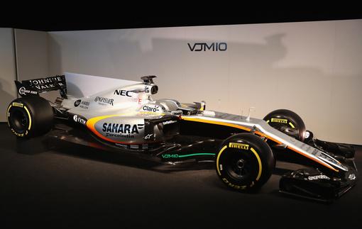Технические характеристики Force India VJM10