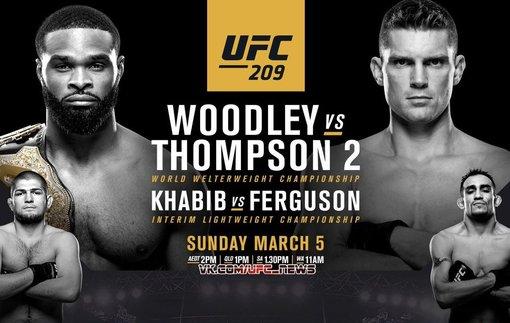 UFC 209: промо видео турнира