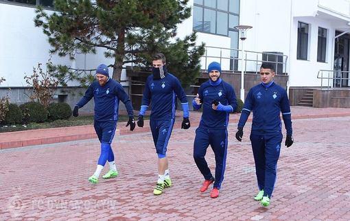 Динамо начало подготовку к поединку против Зари