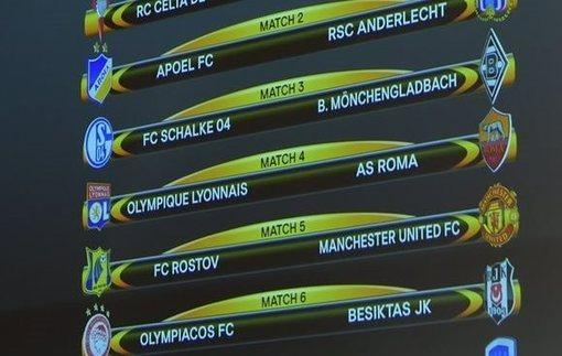 Лига Европы: Все пары 1/8 финала