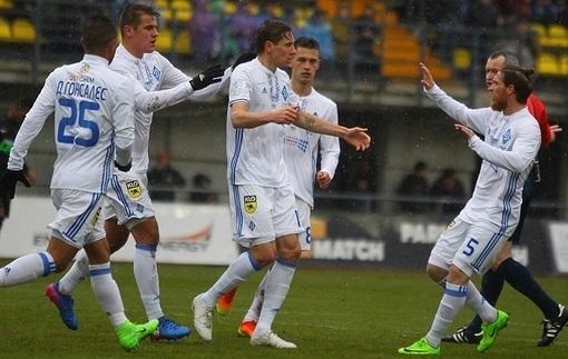 Динамо начало вторую часть сезона с волевой победы над Зарей