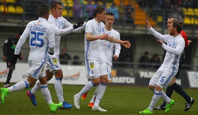 «Динамо» одержало волевую победу над «Зарей»— Чемпионат Украины